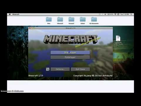 How To Install Minecraft Maps On A Mac {Works on 1.7.9}