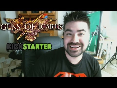 Guns of Icarus Gameplay & Kickstarter