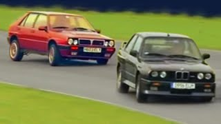 Lancia Delta Integrale v BMW M3 E30 - Fifth Gear