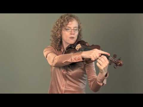 Violin Lesson: Left Hand Position and Placement for Violin (Spanish and Portuguese subtitles)