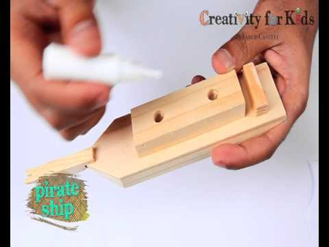 1475 Creativity for Kids - Pirate Ship