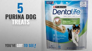 Top 5 Purina Dog Treats [2018 Best Sellers]: Purina DentaLife Daily Oral Care Small/Medium Adult Dog