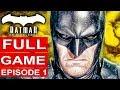 Batman Telltale Season 2 Episode 1 Gameplay Walkthrough Part 1 Full Game 1080p