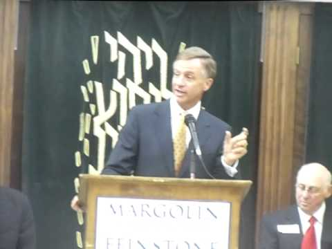 Governor Bill Haslam At Margolin Hebrew Academy Part 1
