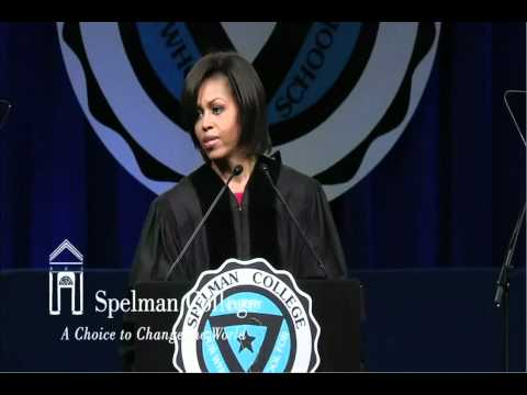 Michelle Obama Speech at Spelman s 2011 Commencement part 2/2
