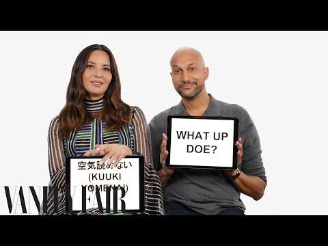 Keegan-Michael Key and Olivia Munn Teach Detroit and Japanese Slang | Vanity Fair en streaming
