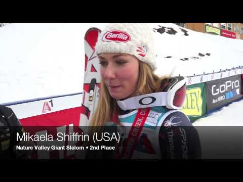 Mikaela Shiffrin Interview
