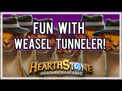 Fun with Weasel Tunneler! (Breaking the Game)