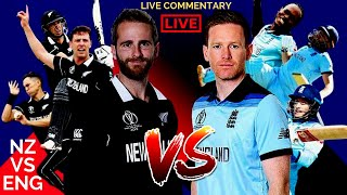New Zealand VS England #NZvsEng Live Commentary ICC Worldcup 2019 I SUPPORT YOUR TEAM + Fun Chat :D