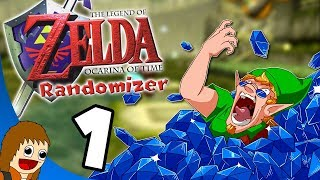 Zelda: Ocarina of Time Randomizer: Slick in Cyan - Part 1