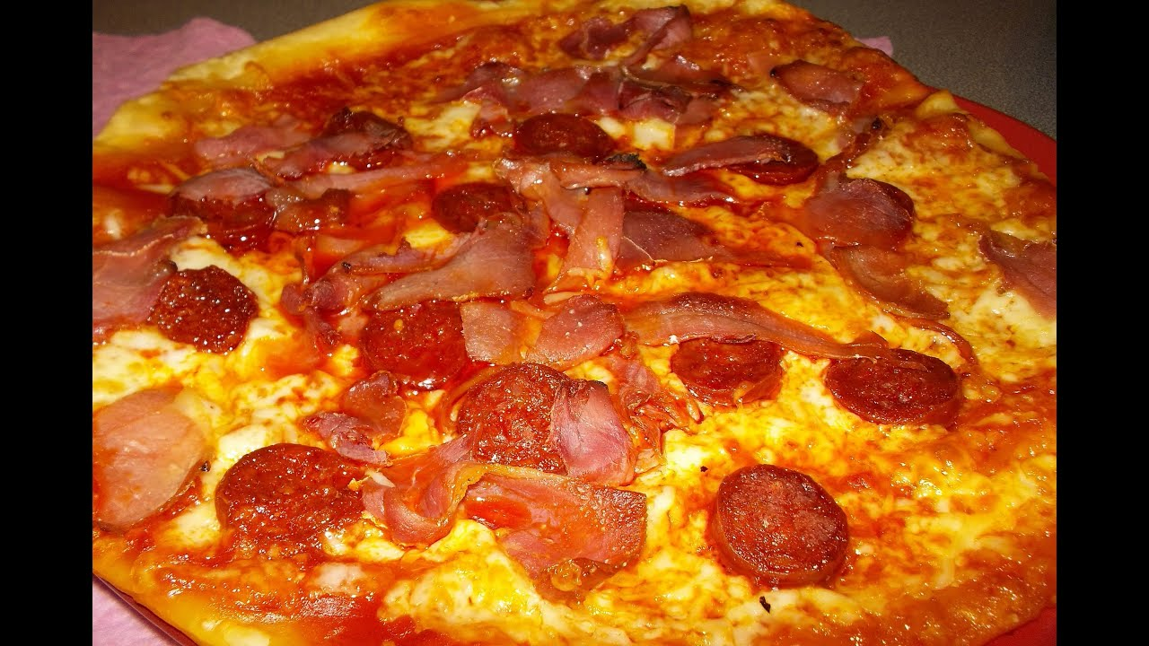 PIZZA DE CARNES FRIAS ...
