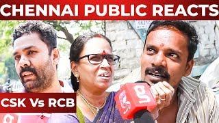 CSK Vs RCB Chennai Reacts