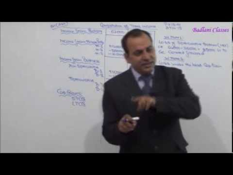 Income Tax - AY 14-15 - Set off & Carry Forward of Losses - Lecture 2