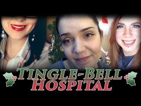Tingle-Bell Hospital - ASMR Treating Your Wounds After Christmas Tree Accident (Part 2)