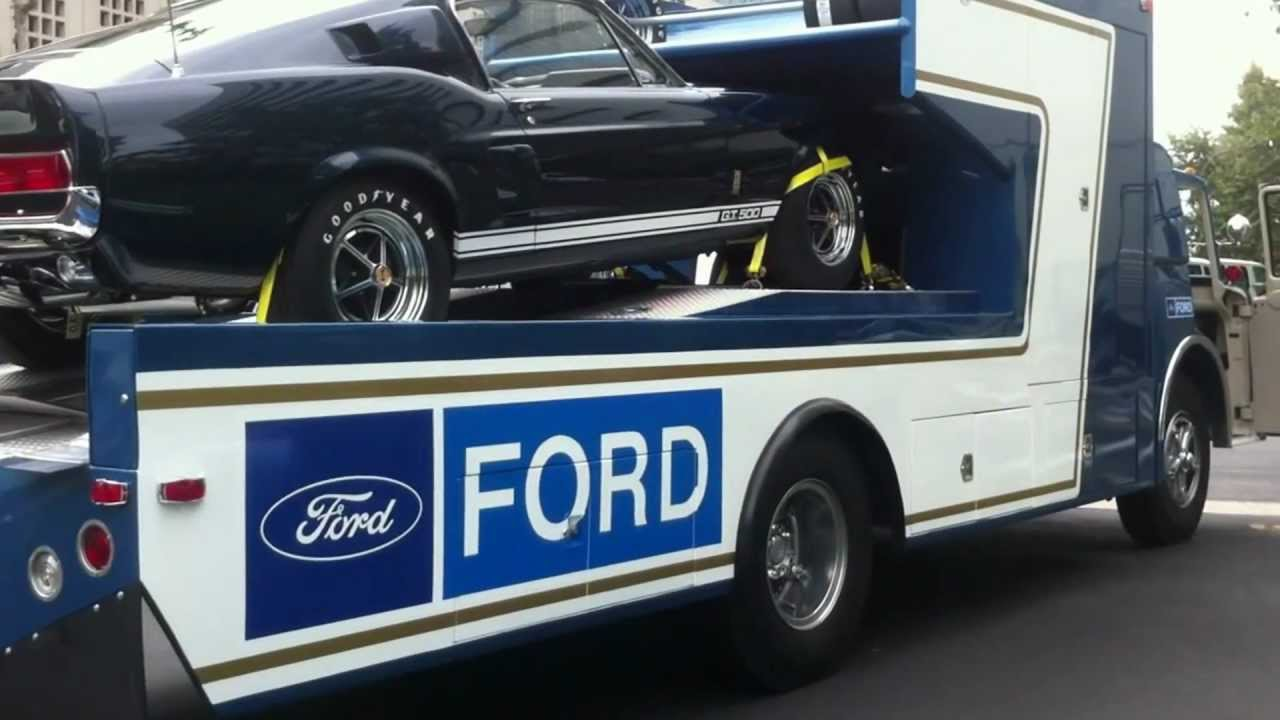 1969 C 800 Drag Team Ramp Truck With 1967 Shelby Gt500