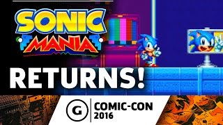 Sonic Mania's Gameplay Revives the Series at Comic-Con 2016