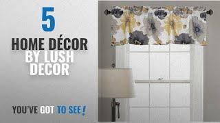 Top 10 Home Décor By Lush Decor [ Winter 2018 ]: Lush Decor Leah Room Darkening Window Curtain