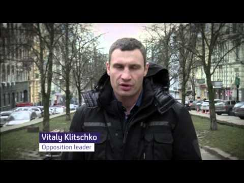 Violence rises in Ukraine protests
