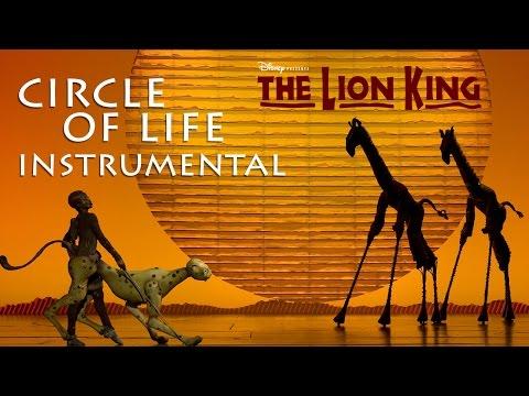 Circle of Life (Instrumental) - The Lion King Musical (Broadway)