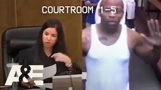Court Cam: Judge Reprimands Father of 40 CHILDREN (S3) | A&E