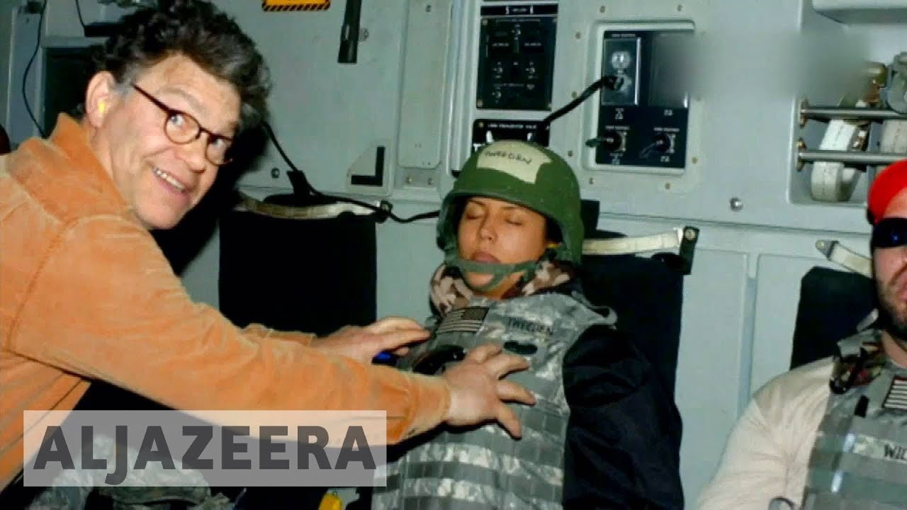 US Senator Al Franken accused of sexual harassment