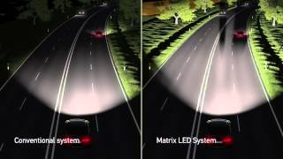 Audi tecnología Faros Matrix LED