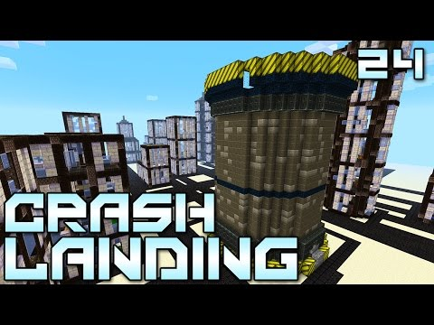Minecraft Crash Landing 24 -