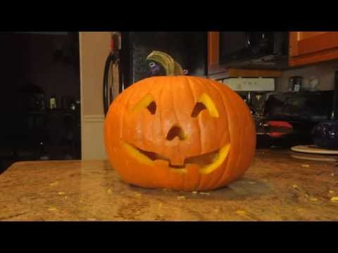 Halloween Special - Pumpking Carving Stop Motion