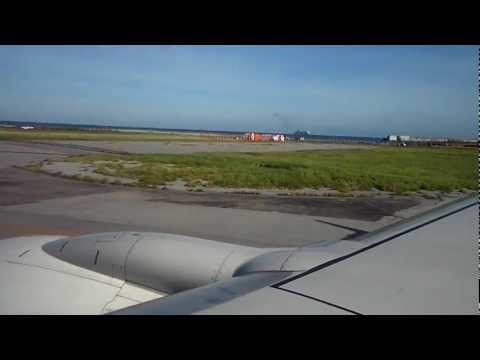 Skymark Airlines: Take-off at Okinawa Airport