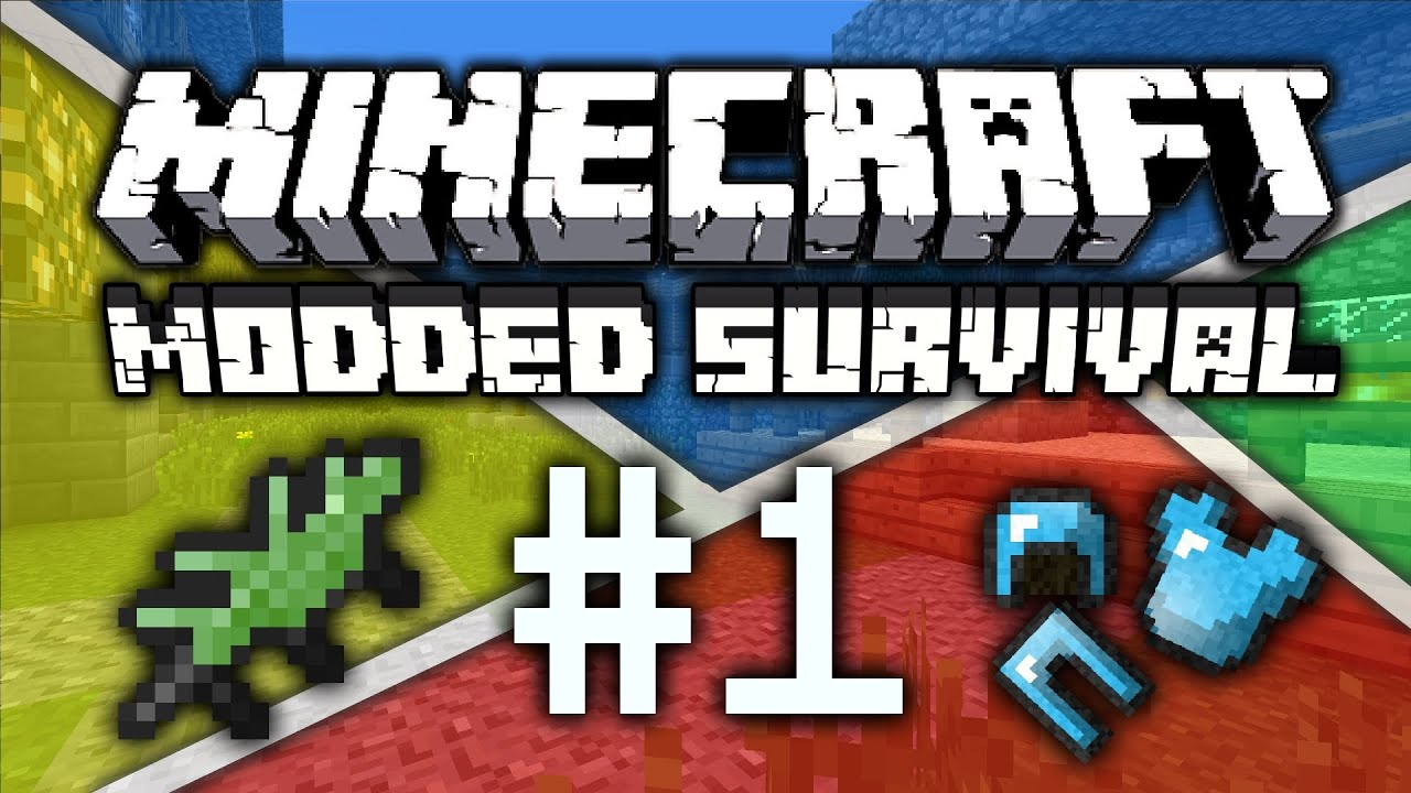 Minecraft MODDED Survival Episode 1 Mods Galore Minecraft Played With LOADS Of Mods
