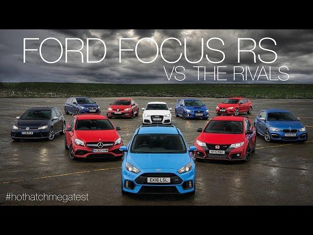 Ford Focus RS vs Honda Civic Type-R vs Audi RS3 vs ...