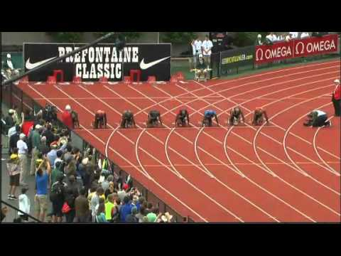 100M Men Eugene 2012 Diamond League