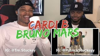 Download Lagu Bruno Mars - Finesse (Remix) [Feat. Cardi B] [Official Video - REACTION Gratis STAFABAND