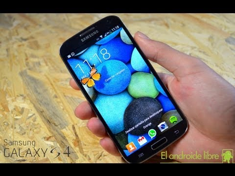 Samsung Galaxy S4: Unboxing y primeras impresiones de uso