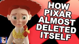 How Pixar Almost Deleted Itself