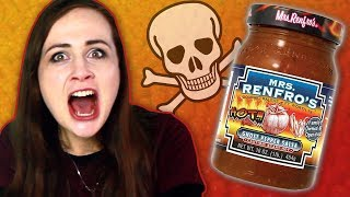 Irish People Try Spicy American Salsa