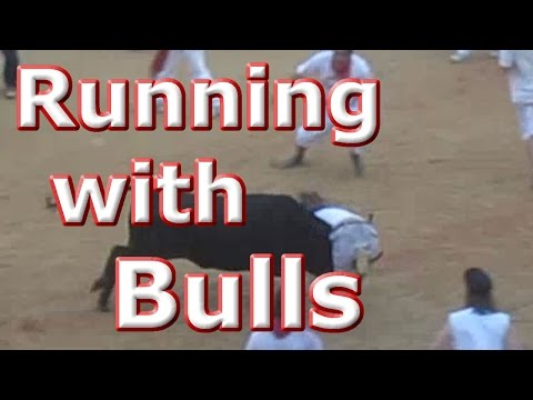 Running of the Bulls 2013 - Pamplona - Terror and Chaos - Coliseum Highlights