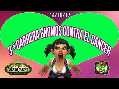 3ªedicion Carrera GNOMOS CONTRA EL CANCER || World of Warcraft