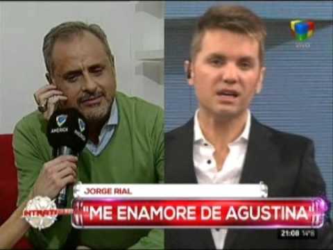 """Jorge Rial: """"Me enamoré de Agustina por el pedazo de mujer que es"""""""