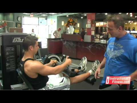 Instructional Fitness - Seated Leg Curls Image 1