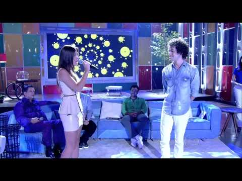 Sam Alves e Marcela Bueno no Encontro -  A Thousand Years (HD...