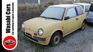 Rare! Just 10,000 built - A 1987 Nissan Be-1 (March/Micra)