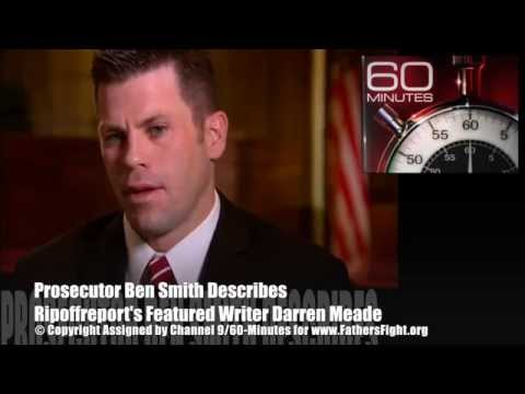 Ripoffreport's Writer Darren M. Meade Under Criminal Investigation 60 Minutes Interview