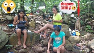 7-Quien no extraña esas sopas a la orilla del río con los amigos y familia.Pescando.P/7/7