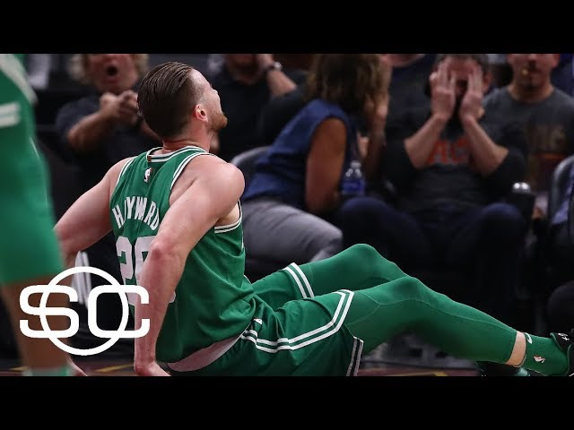 Gordon Hayward fractures left ankle in 1st quarter of Celtics vs. Cavaliers | SportsCenter | ESPN