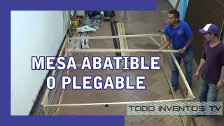 mesa plegable - abatible NEW model ORIGINAL V@todoinventostv #23