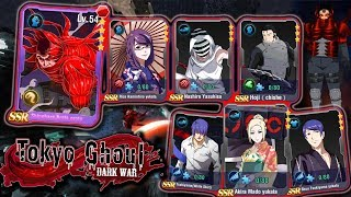 UPDATE 1.22 IS HERE! 7 NEW SSRs + THE PROTO POWER! | Tokyo Ghoul Dark War - Android