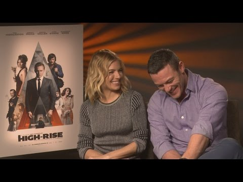 HIGH-RISE: Sienna Miller and Luke Evans tell us all about Tom Hiddleston