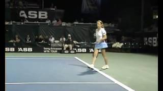 Grandin Granville vs Uhlirova Voracova in Auckland 2010.WMV