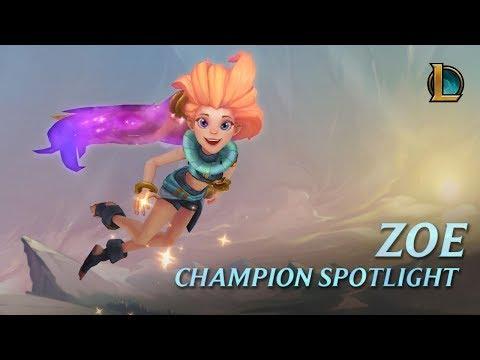 Zoe Champion Spotlight | Gameplay - League of Legends